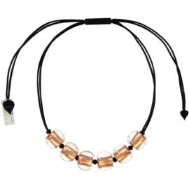 ZSISKA necklace copper 6 BALL'S  PRECIOUS