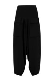 ELSEWHERE pants 2 pockets - black jersey