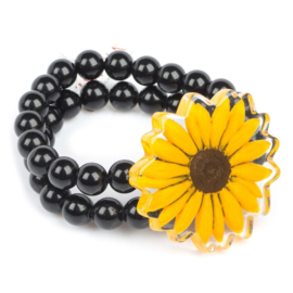 ZSISKA bracelet sunflower yellow  PRIMA VERA