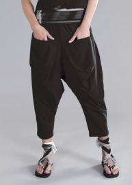 ELSEWHERE trousers travel jersey zwart STYLE 3258