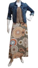 Transfer Fashion midi rok Colonial