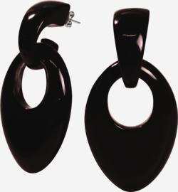 ZSISKA earrings black COLORFUL STATEMENTS