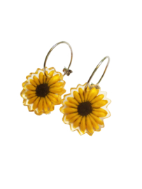 ZSISKA earrings sunflower PRIMA VERA