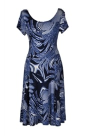 LEEZZA summer dress  jersey  abstract print STYLE IBIZA