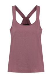ELSEWHERE halter top ESRA- coral jersey