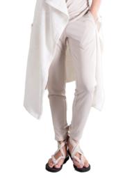ELSEWHERE broek - naturel jersey modal