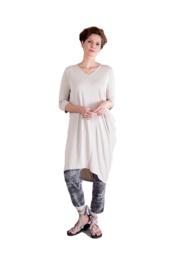ELSEWHERE tuniek/jurk -  natural modal jersey