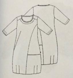 VETONO jersey jurkje met steekzakken