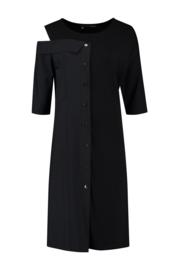 ELSEWHERE tuniek / jurk  ALBA- zwart jersey / tech jersey