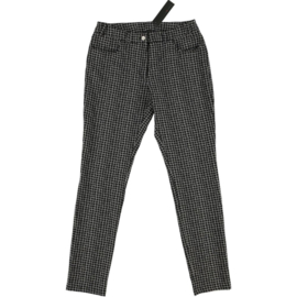 ELSEWHERE trousers, basic style in check fabric . SIZE S - STYLE 3156