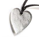 ZSISKA ketting zilver hart groot HEARTS