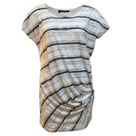 ELSEWHERE tunic striped jersey STYLE 3229