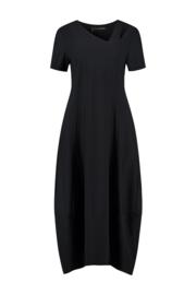 ELSEWHERE jurk MARIE - zwart travel / tech jersey