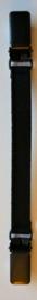 ELSEWHERE elastic styling strap 10 cm, black. STYLE 1000 B