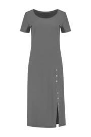 ELSEWHERE dress JESSIE- grey travel / tech jersey