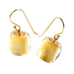 ZSISKA earrings gold BALL'S PRECIOUS
