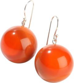 ZSISKA earrings orange. BOLAS