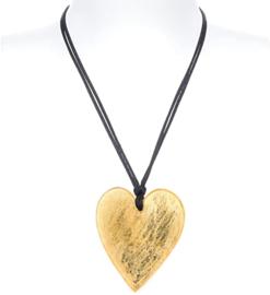 ZSISKA ketting goud hart groot HEARTS