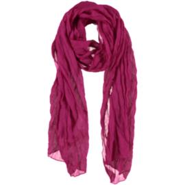 A-zone sjaal fuchsia basic style