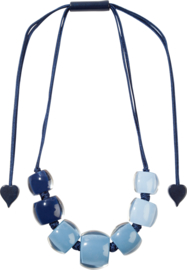 ZSISKA necklace blue  degrade BELLISSIMA