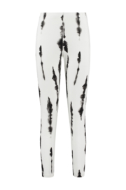 ELSEWHERE legging ZOE - zwart print jersey