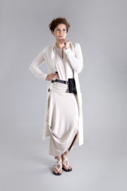 ELSEWHERE cardigan long offwhite STYLE 3218