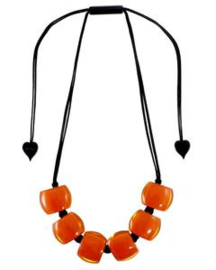ZSISKA earrings orange BELLISSIMA.