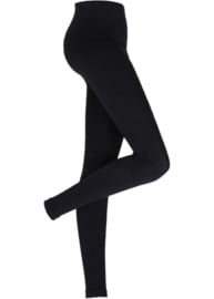 ELSEWHERE legging viscose lycra jersey black. STYLE 1152