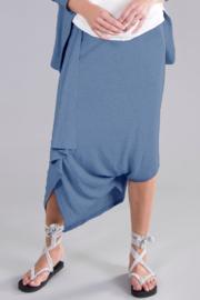 ELSEWHERE broek dhoti style Bubble denim blue STYLE 3251