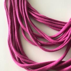 BORIS t-shirt scarf necklace pink
