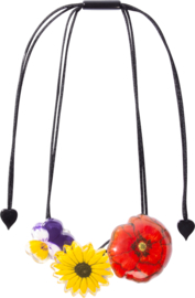 ZSISKA necklace flowers small PRIMA VERA