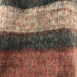 ELSEWHERE bolero / scarf brushed jersey stripe. ONE SIZE. STYLE 3138