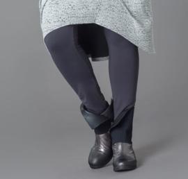 ELSEWHERE legging viscose lycra jersey grijs. STYLE 1152