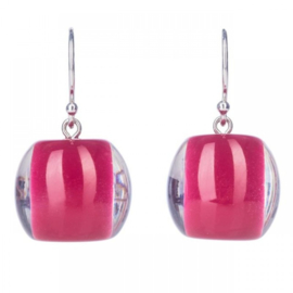 ZSISKA earrings pink cerise BALL'S
