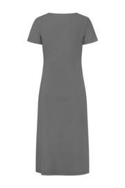 ELSEWHERE jurk JESSIE- grijs travel / tech jersey