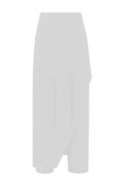 ELSEWHERE overslag broek  LOLA - off-white jersey dot