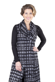 ELSEWHERE gilet ruit MAAT XXL - STYLE 3302