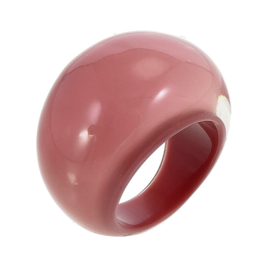 ZSISKA ring roze dusty. BASIC