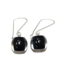 ZSISKA earrings black BALL'S