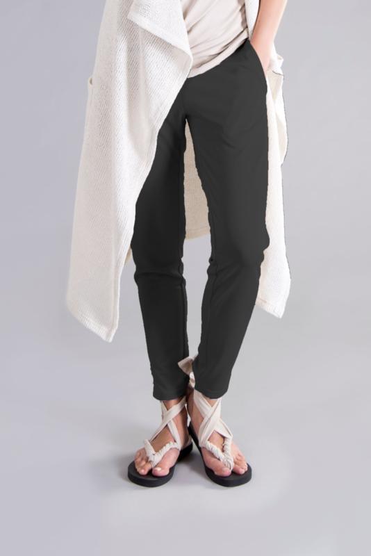 ELSEWHERE broek zwart STYLE 3238