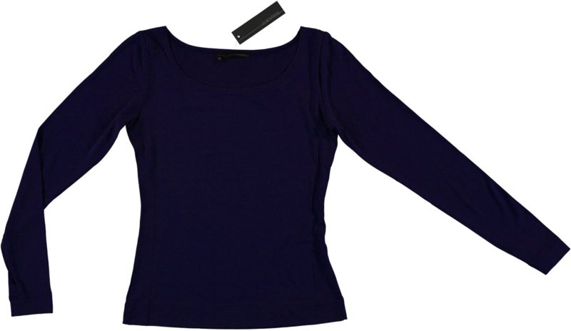 ELSEWHERE top jersey night blue lange mouw. STYLE 949