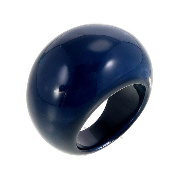 ZSISKA ring blauw marine. BASIC
