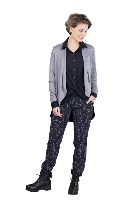 ELSEWHERE broek abstract STYLE 3305B