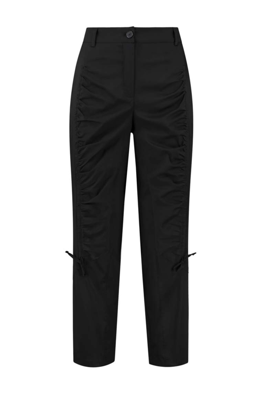 ELSEWHERE broek FIEN - zwart poplin