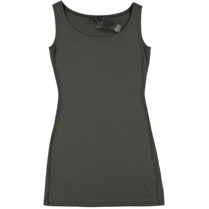 ELSEWHERE tuniek- jurkje antra grijs 90 cm jersey. STYLE 1247 B