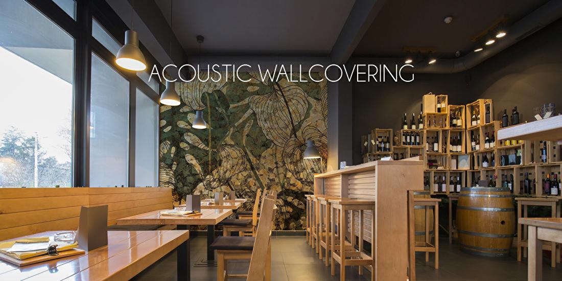 projectbehang acoustisch behang hotel restaurant kantoor
