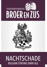 Nachtschade (Belgian Strong Dark Ale)
