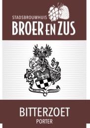 Bitterzoet (Porter) (Prijswinnaar beste huisbier van Nederland 2016 en 2019)