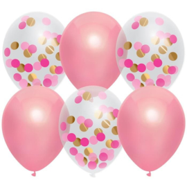 Versieringen - Balloonmix Princess Pink