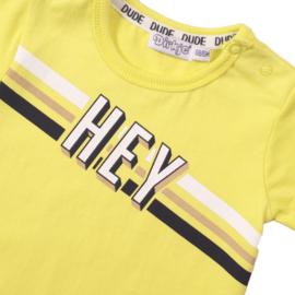 Dirkje - T-Shirt Neon Yellow